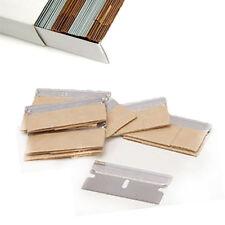 200 single edge razor blades heavy duty en acier au carbone fenêtre removal four grattoir
