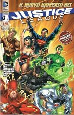JUSTICE LEAGUE NEW VOLUME 1 EDIZIONE LION PRIMA EDIZIONE NO POSTER