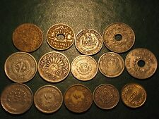 13 Syrian Coins include 4 Silver + 1 Lebanese Coin - 14 Total All Rare