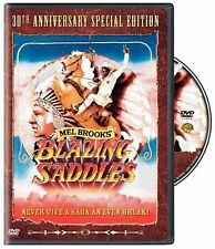 Blazing Saddles [1974] [DVD] Cleavon Little, Gene Wilder, Mel Brooks New Sealed