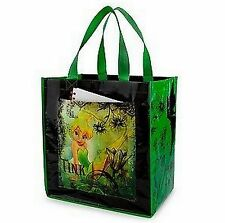 DISNEY RECYCLE TOTES! BRAND NEW! TINKER BELL WITH POCKET! BIG TOTE! FREE SHIP!