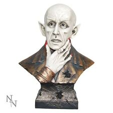 NOSFERATU DRACULA HEAD BUST RESIN STATUE MOVIE VAMPIRE VAMPYRE NEW AND BOXED