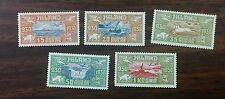 {BJ STAMPS} Iceland C4-C8 VF hinged complete set 1930 Airmails