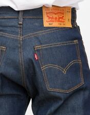 New Levi's Mens 501 0000 Straight Button Fly Shrink-To-Fit Denim Jeans 31 X 33