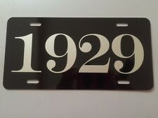 1929 YEAR LICENSE PLATE FITS CHEVY FORD CHRYSLER BUICK DODGE PLYMOUTH PONTIAC A