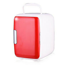 4L Mini Freezer Warmer Fridge Refrigerator Portable Cooler Auto Car Home Office