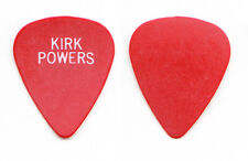 Debbie Gibson Kirk Powers Signature Red Guitar Pick - 1989 Electric Youth Tour