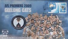 2009 Australia PNC Geelong Cats AFL Premiers with Medal