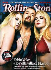 ROLLING STONE MAGAZINE N°17/2005 PINK FLOYD FABIO VOLO SYD BARRETT KRISMA BECK