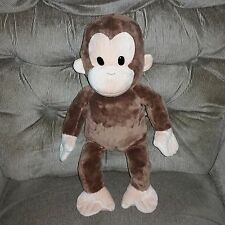 "Applause 17"" Curious George Brown MONKEY Soft Plush Kohls Cares Russ Berrie"