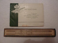 Faber Castell No.1/87 Rietz Slide Rule, cased, with original instructions