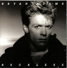 Bryan Adams CD Reckless (Rare,1st Edition W.Germany-Exc!)