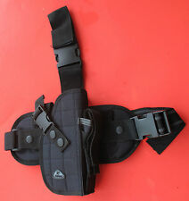 Great Quality Drop Leg Holster and Attached to Belt, Right Hand Draw