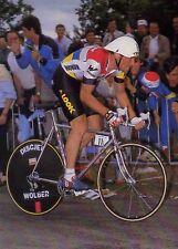 BERNARD HINAULT TOUR DE FRANCE 1985 TEAM LA VIE CLAIRE TIME TRIAL POSTER