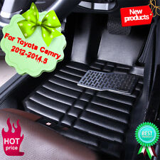 Auto Car Front & Rear Row Floor Mat Protector Liner For Toyota Camry 2012-2014.5