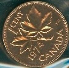 1974-PL Proof-Like Penny 1 One Cent 74 Canada/Canadian BU Coin UNC Un-Circulated
