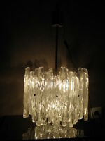 light ice space age Ceiling MODERN HANGING ufo LAMP Atomic fixture PANTON ère 70