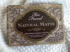 Too Faced Natural Matte Neutral Eyeshadow Collection 9 Lidschatten Palette