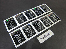 10x Intel inside Core i5 vPro Sticker 15.5mm x 21mm - Haswell Extreme Version
