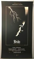 Olly Moss THE BRIDE OF FRANKENSTEIN AP Mondo Movie Print Poster Signed Numbered