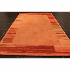 Alter Handgeknüpfter Orient Teppich Gabbeh Carpet Tappeto Nepal Rug 120x180cm