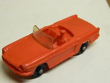 "TOMTE - RENAULT FLORIDE Roadster # 6 RED 1/43 Sc. Made in Norway 3 3/4"" Nice*"