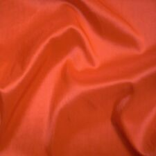 "Orange Yellow Two Tone Taffeta Fabric Weddings 60"" P/Mtr"