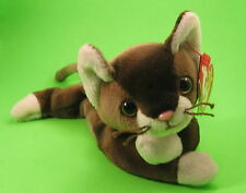 TY Beanie Baby Pounce the Burmese Cat Kitten MWMT Birthday August 28 1997 #4122