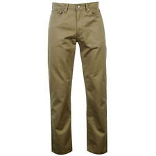 "Levis Mens 751 Khaki Straight Leg Fit Cotton Trousers Jeans W34"" L32""  511 501"