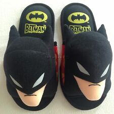 NWT Batman Slippers Shoes US size 6-10, UK 4-8, EU 36-42