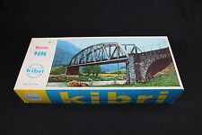 W169 KIBRI Train Maquette 9696 Pont ferroviaire plastique decor diorama