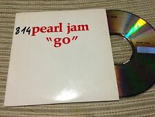 PEARL JAM - GO CD SINGLE 1 TRACK PROMO EUROPE CARD SLEEVE