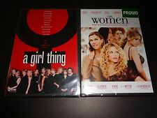 A GIRL THING & THE WOMEN-2 movies-All star casts-KATE CAPSHAW, MEG RYAN & more