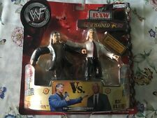 WWE Jakks Vince McMahon Flair twin pack figures MOC
