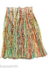 Mujer Largo Arcoiris Fiesta En La Playa Hula Hawaiano Disfraz Falda De Hierba BN