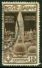 ITALY # 124 Fine Used Issue - RE-ERECTION CAMPANILE AT VENICE - S5656