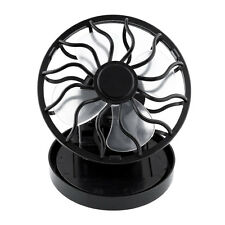 Solar Power Cell Fan Clip-on Sun Powered Cooler Fishing Outdoor Activities