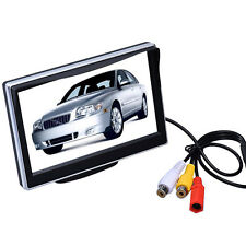 "5"" 2 TFT-LCD Digital Panel Color Car Rear View Monitor Parking Monitor Screen"