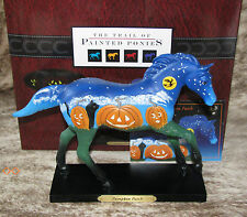 TRAIL OF PAINTED PONIES Pumpkin Patch Low 1E/0474~Pumpkin Faces Glow in the Dark