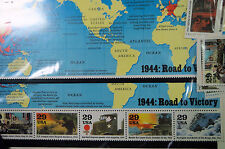 "1944  ""ROAD  TO  VICTORY""  WORLD  WAR  II  MINT  SET, NEW, Unopened and Unused"