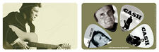 Johnny Cash Album Covers PikCard Collectible Guitar Picks (4 picks per card)