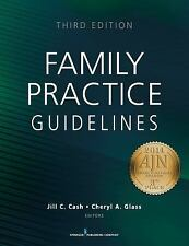 FAMILY PRACTICE GUIDELINES [97808 - CHERYL A. GLASS JILL C. CASH (PAPERBACK) NEW