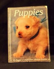 PUPPIES BY MAXWELL RIDDLE PAPERBACK BOOK