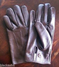 British Army Officers Leather Gloves Brand New