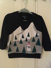 GAP , Baby Gap Christmas Jumper For Boy Aged 12-18 Months Vgc