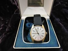 Vintage Hamilton Men's Wrist Watch New Old Stock 1970's in Original Box NOS