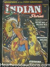 Indian Stories  Summer 1950  1st issue; Geronimo Red Scourge of the Southwest
