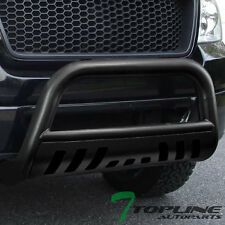 HAMMERED BLACK STEEL BULL BAR BRUSH BUMPER GRILL GUARD 2009-2016 DODGE RAM 1500