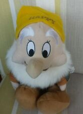 Happy Dwarf from Snow White and The Seven Dwarfs Animated Plush by Disney