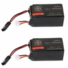 2 x 2500mAh 11.1v Big Capacity Battery For Parrot AR.Drone 2.0 Quadcopter